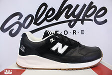 NEW BALANCE 530 BLACK OFF WHITE GUM BEIGE M530ATB SZ 8