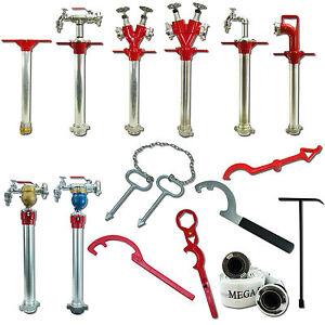 Standrohr DN 50 80 Unterflur Hydrant Schlüssel Storz Wasser Z Ventil DIN 14375
