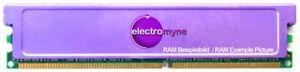 512MB Revoltec DDR1 RAM PC2700U 333MHz CL2.5 Memory RAM Cooler / Heat Spreader