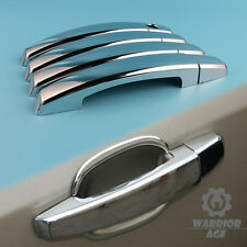 4X Chrome Door Handle Cover Decor For Chevrolet Aveo Captiva Buick Cruze Camaro