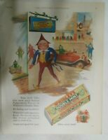 Wrigley Gum Ad: Wrigley Doublemint Gum ! from 1928 Size: 11 x 15 inches
