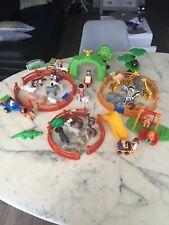 GROS LOT PLAYMOBIL 1 2 3 NOMBREUX ANIMAUX POUR ZOO 123 PARC DE JEUX