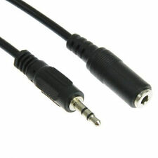 STANDARD 3.5mm Male to 3.5mm Female M/F Audio Stereo Headphone Extension Cable
