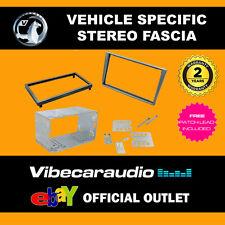 Vauxhall Meriva 2002 - 10 Double Din Fascia Adaptor Kit Matt Chrome CT23VX10