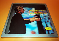 Beethoven 9 Symphonies Berlin Philharmoniker Karajan 8LP Box Set
