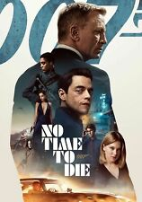 007 No Time To Die  Poster A5, A4, A3 A2 A1