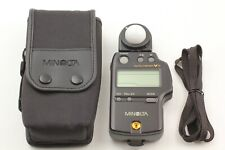 [Almost MINT in CASE] Minolta Auto Meter VF V F Light Meter w/ Strap from JAPAN