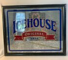 ICEHOUSE ORIGINAL 1855 MIRROR ADVERTISING SIGN BAR DECORATION FRAMED BREWERY