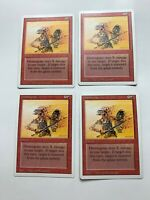 4x Vintage Playset of  DISINTEGRATE MTG Revised Magic the Gathering