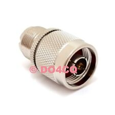 Adapter N Stecker auf PL ( UHF ) Buchse ( K06D 1 )