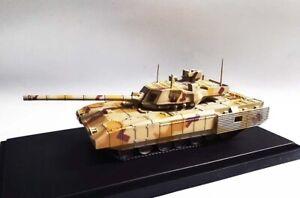 Panzerkampf model Russia T-14 Armata MBT desert camouflage 1/72 tank diecast
