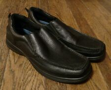 Dr. Scholl's Men's Black Leather Advanced Comfort Series Slip On Loafers Size 13