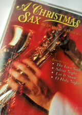 A Christmas Saxophone Music Cassette  Donnie Sanders SB-12  1992 Vintage Sealed