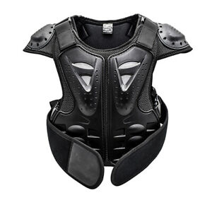 Kids Body Chest Spine Protector Protective Guard Vest Motorcycle Jacket S/M/L UK