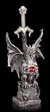 Drachen Figur als Brieföffner Yasaru - Deko Schwert Fantasy