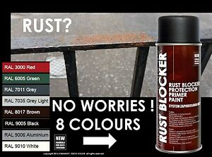 DECOCOLOR RUST BLOCKER 4in1 ANTICORROSIVE METAL ANTIRUST HOME GARDEN SPRAY PAINT