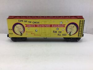 K=Line Circus Transport CTRR  Billboard Wood-Sided Reefer K762-5302 O Scale