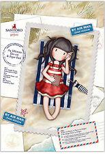 Gorjuss Santoro A4 160gm 48 sheet ultimate die cut paper & tag Postal Collection