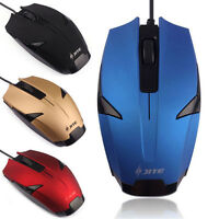 Professional USB 3 Button Optical Scroll Wired Mouse Mice For PC Laptop Desktop