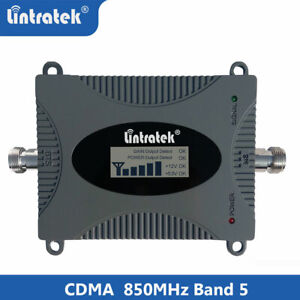 Lintratek Signal Booster 3/4G LTE 850MHz Band5 65db cell phone Repeater for call