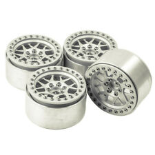 "4 x 2.2"" Aluminum Beadlock Wheel Rims For RC 1/10 Axial Wraith Crawler Car Truck"