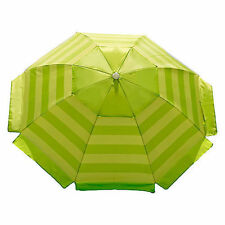 Nautica Beach Umbrella 7' Lime Rainbow NEW FREE SHIPPING 48 STATES