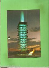 #D267. LARGE  1964  TOKYO  OLYMPIC  GAMES  TOWER  POSTCARD