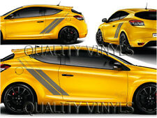Renault megane rs 275 trophy graphics racing stripes mk3 decals vinyl RS110