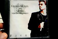 George Michael And Queen - Five Live  - CD, VG