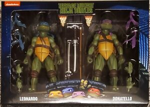 NECA TMNT, LEONARDO AND DONATELLO, WALMART EXCLUSIVE (BRAND NEW)