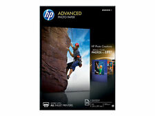 HP Advanced A4 Glossy Gloss Inkjet Photo Paper 250 GSM 25 Sheets Q5456A