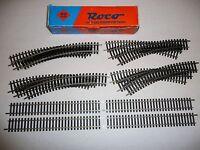 Roco HO Gleise Modell gleise 2,5mm  kompl. Schienen- Oval NS 4422 u. 4404