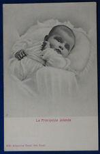 """SAVOIA La Principessa Jolanda postcard no viaggiata """"900 f/p #22230"""
