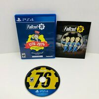 Fallout 76 Tricentennial Edition PlayStation 4 Video Game Complete With Manual