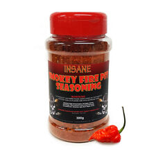Chilli Wizards Insane Ghost Pepper BBQ Smokey Fire Pit Seasoning Mix - 300g