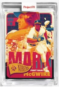 Topps Project70 Card 179 1965 Mark McGwire Matt Taylor Project 70 A's 9