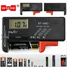 WHDZ BT168D Universal Battery Tester LCD Digital Display for AAA/AA/C/D 1.5V-9V