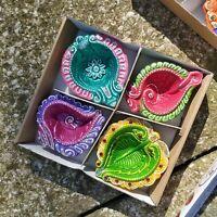Mehendi Mehndi Tea Light Holder DIYA taal Plate Henna Dolki Eid Paan