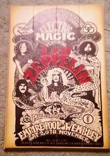 Led Zeppelin Hardwood-Decorated Promo Poster/Wall Art