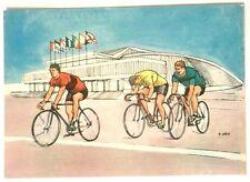 Cartolina Illustrata XVII Olimpiade Roma 1960 - Ciclismo