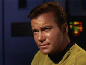 Star Trek Original Series 1966, William Shatner James T Kirk 39 OLD LARGE PHOTO