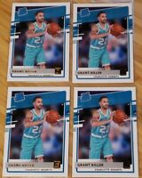 2020-21 Donruss Grant Riller RC Rated Rookie Hornets Base Lot x 4!