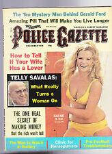 National Police Gazette Telly Savalas Boom Boom Geoffrion WFL December 1974