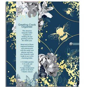Bee Wild Greeting Cards Organiser