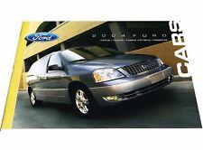 2004 Ford 24-page Sales Brochure Catalog - Crown Victoria Focus Freestar Taurus
