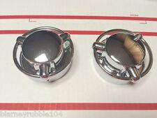 Harley Gas Cap Satellite Style Cap Cover Period Custom 73-82 FL FLH Shovelhead