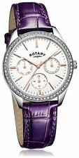 Rotary Ladies' Multi Dial Purple Strap Watch. From the Argos Shop on ebay