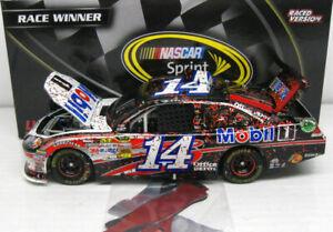TONY STEWART 2012 MOBIL 1 COKE ZERO 400 RACE WIN 1/24 ACTION DIECAST CAR 1/550