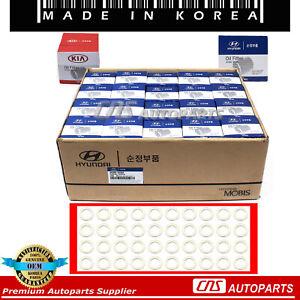 Oil Filter & Washers 40pcs GENUINE OEM for 86-17 Accent Elantra Santa Fe Sonata