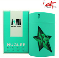THIERRY MUGLER A*MEN KRYPTOMINT EAU DE TOILETTE 100ML SPRAY - MEN'S FOR HIM. NEW